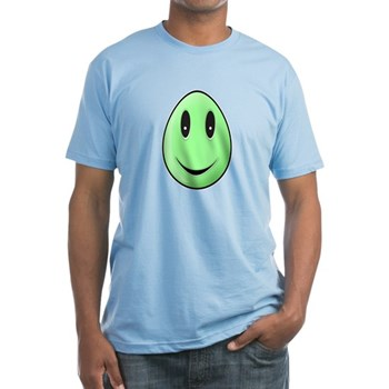 Green Easter Egg Fitted T-Shirt