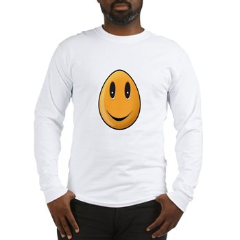 Orange Easter Egg Long Sleeve T-Shirt