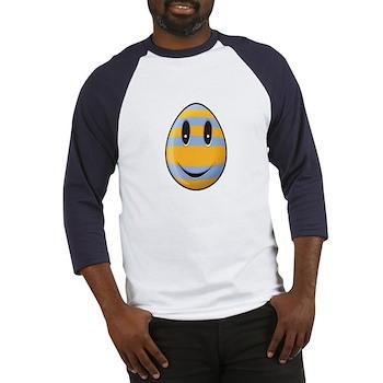 Smiley Easter Egg Baseball Jersey