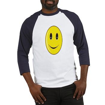 Long Face - Smile Baseball Jersey