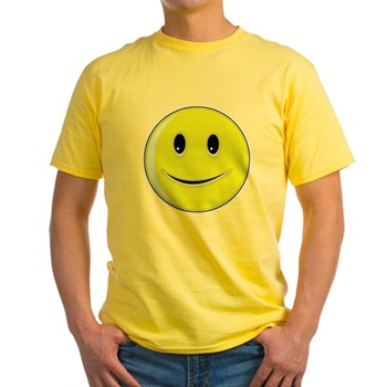 Smiley Face - Happy Smile Light T-Shirt