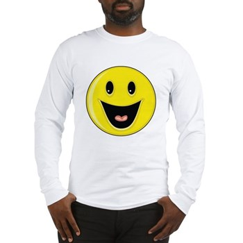 Smiley Face - Big Smile Long Sleeve T-Shirt