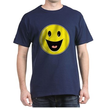 Smiley Face - Big Smile Dark T-Shirt