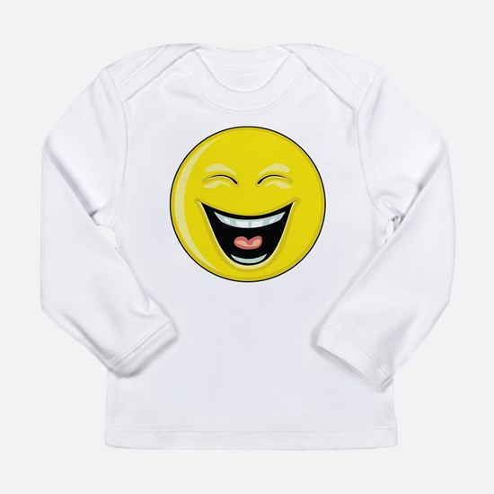 "Smiley Face - ""LOL"" Laughing Long Sleeve Infant T-"