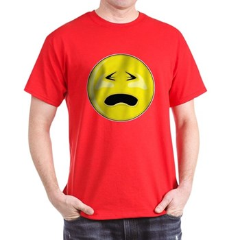 Smiley Face - Crying Dark T-Shirt