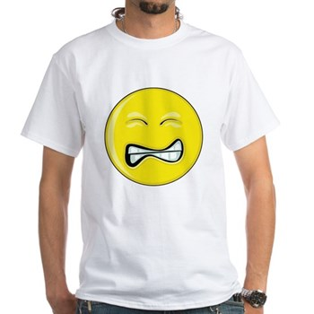 Smiley Face - Grimace White T-Shirt