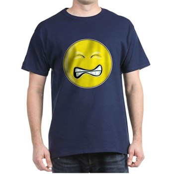 Smiley Face - Grimace Dark T-Shirt