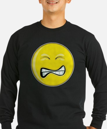 Grimace Smiley Face