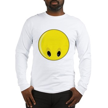 Smiley Face - Looking Down Long Sleeve T-Shirt