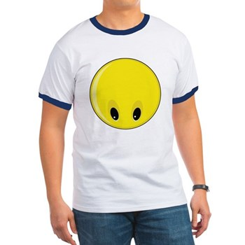 Smiley Face - Looking Down Ringer T