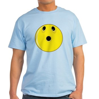 Smiley Face - Looking Up Light T-Shirt