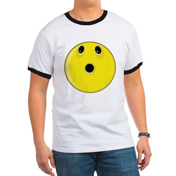 Smiley Face - Looking Up Ringer T