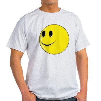 Smiley Face - Looking Right Light T-Shirt