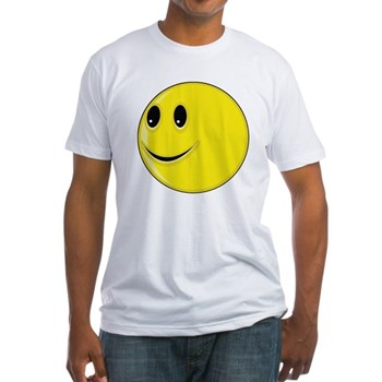 Smiley Face - Looking Right Fitted T-Shirt