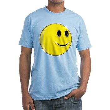 Smiley Face - Looking Left Fitted T-Shirt