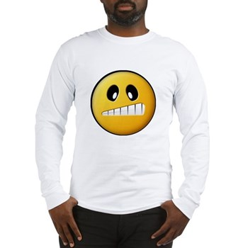 Confused Smiley Long Sleeve T-Shirt