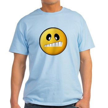 Confused Smiley Light T-Shirt