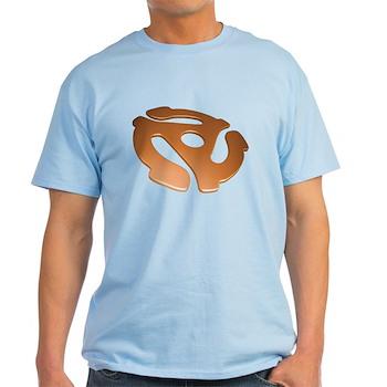 Orange 3D 45 RPM Adapter Light T-Shirt