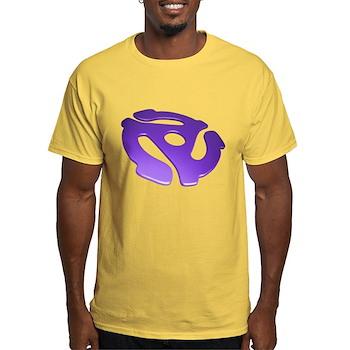 Purple 3D 45 RPM Adapter Light T-Shirt