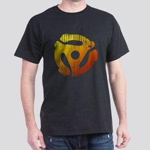 Distressed 45 RPM Adapter Dark T-Shirt