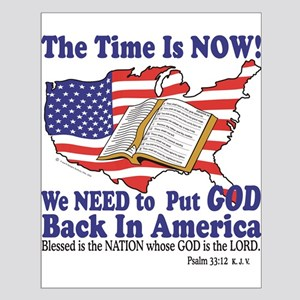 Put God Back in America Small Poster