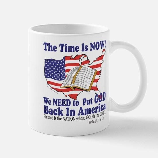 Put God Back in America Mug