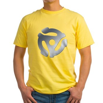Silver 45 RPM Adapter Light T-Shirt