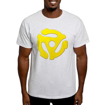 Yellow 45 RPM Adapter Light T-Shirt