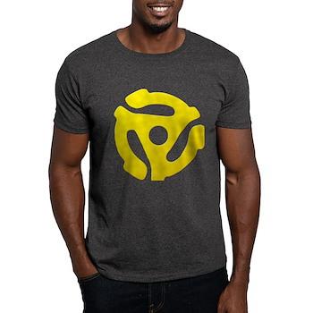 Yellow 45 RPM Adapter Dark T-Shirt