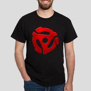 Red 45 RPM Adapter Dark T-Shirt