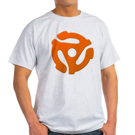 Orange 45 RPM Adapter Light T-Shirt