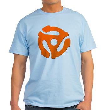 Orange 45 RPM Adapter Light T-Shirt