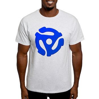 Blue 45 RPM Adapter Light T-Shirt
