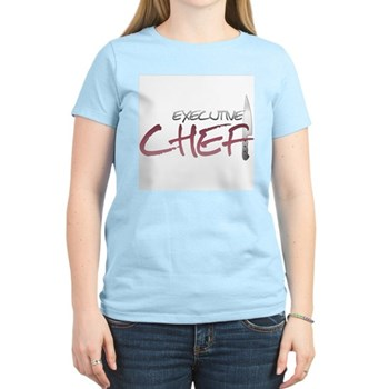 Red Executive Chef Women's Light T-Shirt