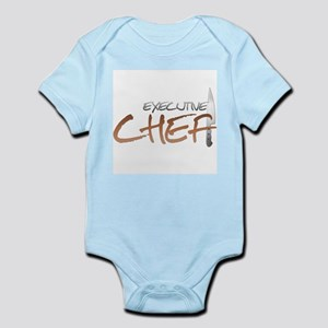 Orange Executive Chef Infant Bodysuit
