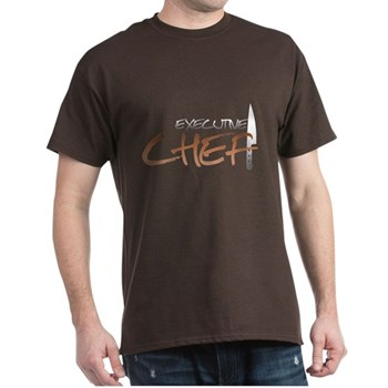 Orange Executive Chef Dark T-Shirt