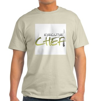 Yellow Executive Chef Light T-Shirt