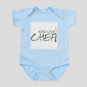 Green Executive Chef Infant Bodysuit