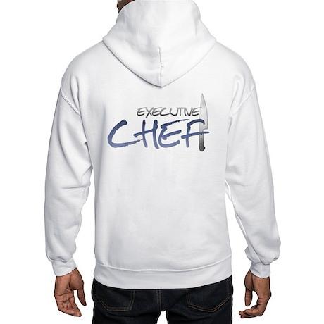 Blue Executive Chef Hooded Sweatshirt