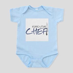 Blue Executive Chef Infant Bodysuit