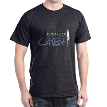 Blue Executive Chef Dark T-Shirt