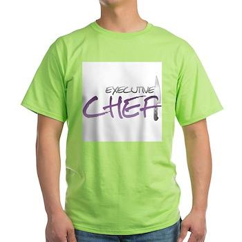 Purple Executive Chef Light T-Shirt