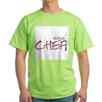 Red Sous Chef Light T-Shirt