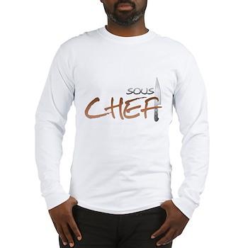 Orange Sous Chef Long Sleeve T-Shirt
