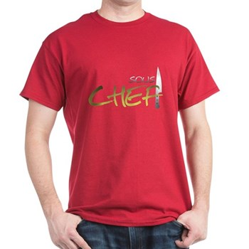 Yellow Sous Chef Dark T-Shirt