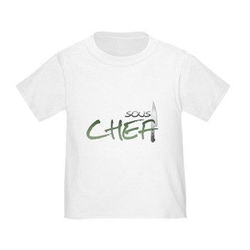 Green Sous Chef Toddler T-Shirt