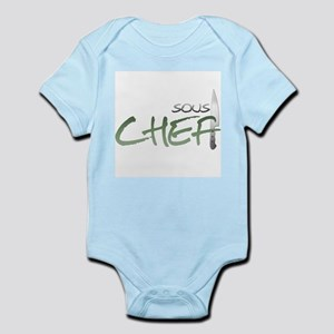 Green Sous Chef Infant Bodysuit