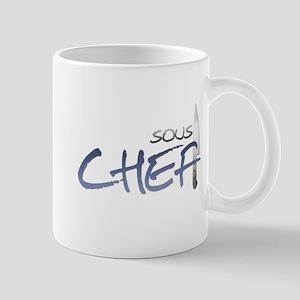 Blue Sous Chef Mug