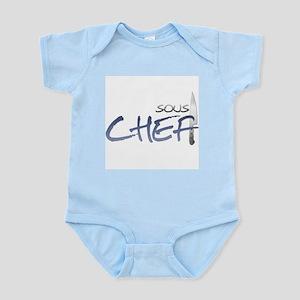 Blue Sous Chef Infant Bodysuit
