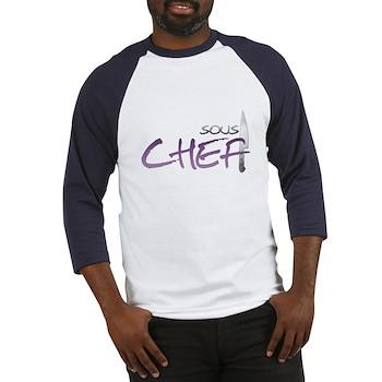 Purple Sous Chef Baseball Jersey